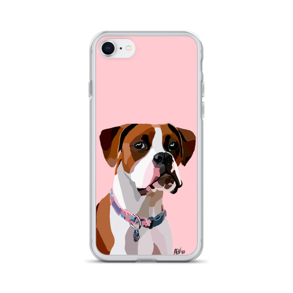 Boxer iPhone Case – Standard - Miss Manda Pet Portraits