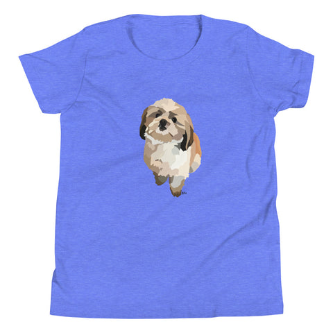 Shih Tzu Youth T-Shirt - Miss Manda Pet Portraits