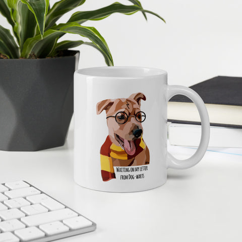 Dogwarts Mug - Miss Manda Pet Portraits