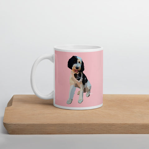 Pups for Black Lives Matter 4 Mug