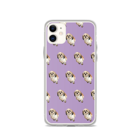 Shih Tzu iPhone Case – Pattern - Miss Manda Pet Portraits