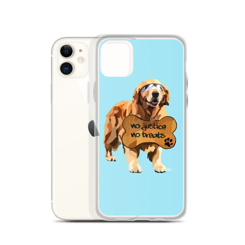 Pups for Black Lives Matter 6 iPhone Case