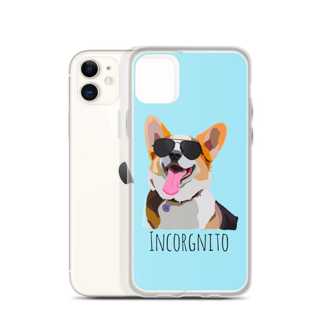 Corgi Incorgnito iPhone Case