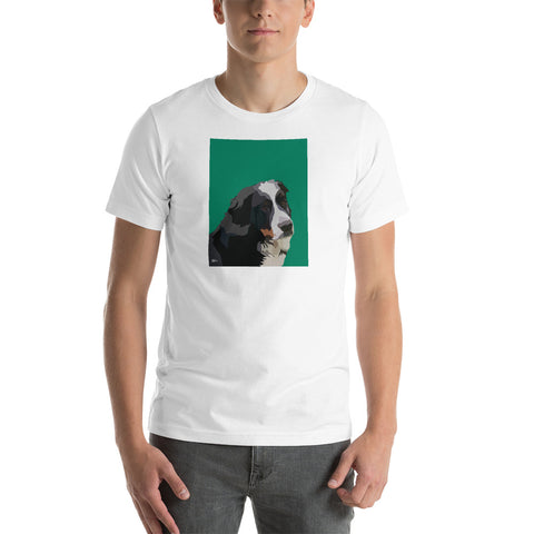 Bernese Mountain Dog T-Shirt – Portrait - Miss Manda Pet Portraits