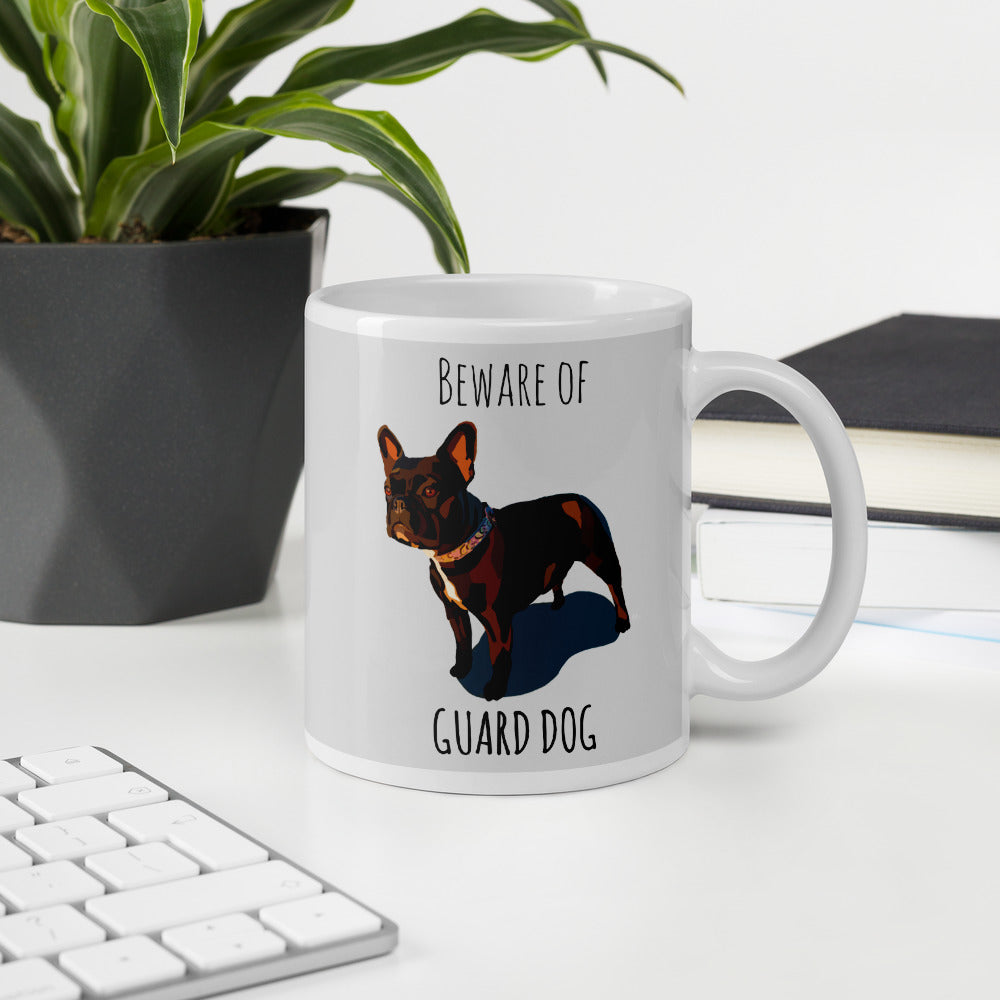 Guard Dog Mug - Miss Manda Pet Portraits
