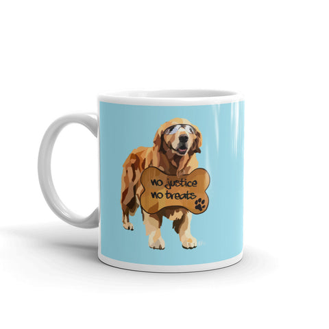 Pups for Black Lives Matter 6 Mug