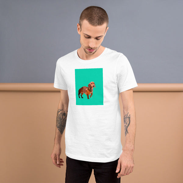 Dachshund T-Shirt – Portrait - Miss Manda Pet Portraits