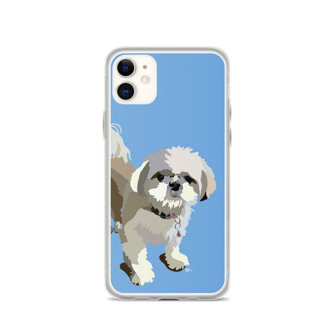Shih Tzu (Short) iPhone Case – Standard - Miss Manda Pet Portraits