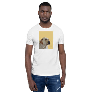 Yellow Lab T-Shirt – Portrait - Miss Manda Pet Portraits