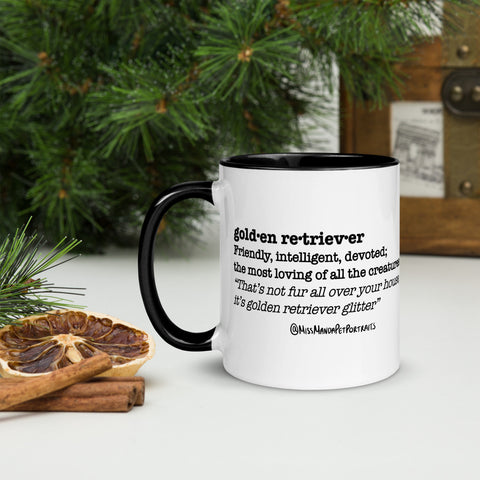 Golden Retriever Definition Mug