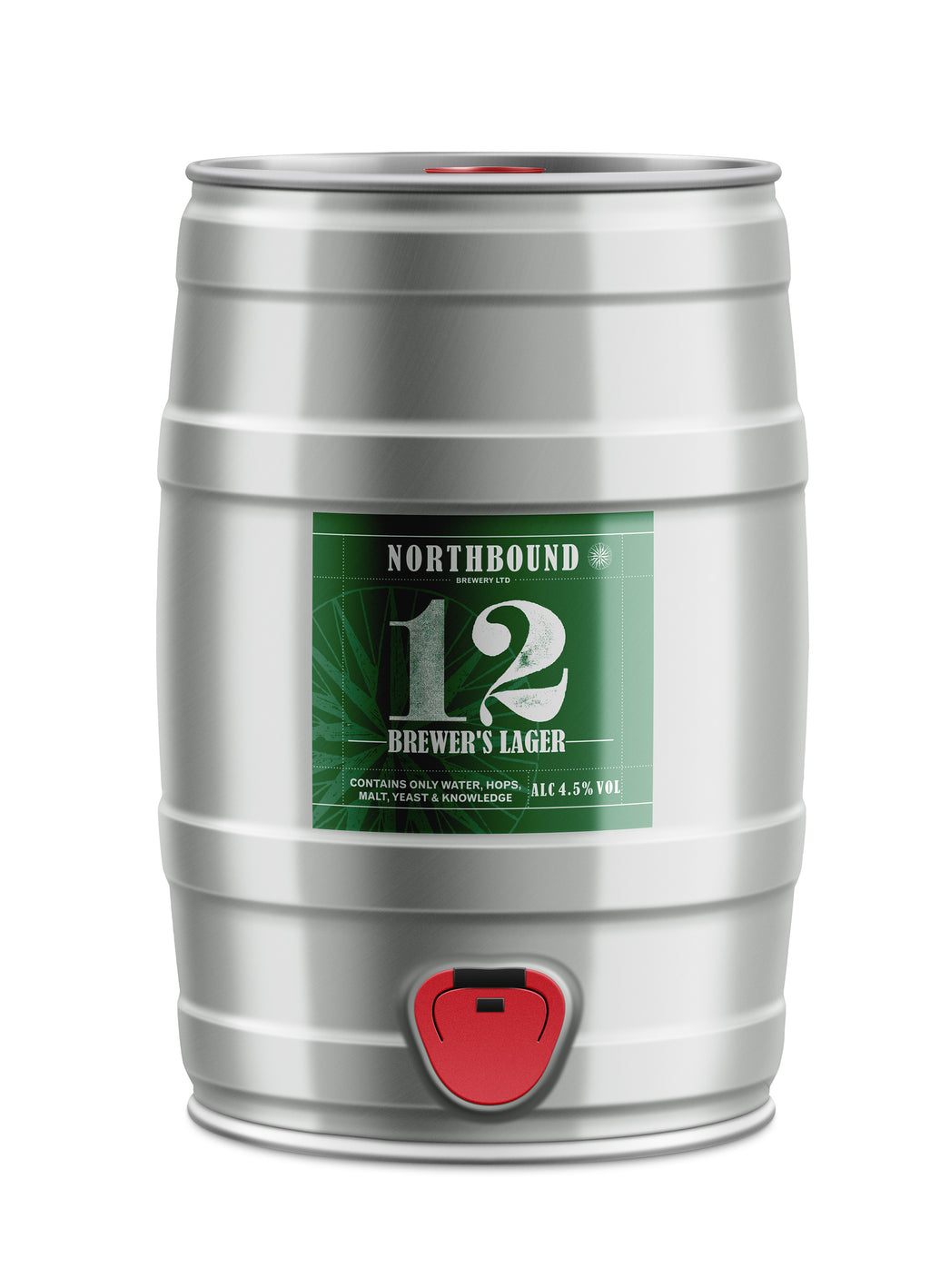 12 Brewers Lager - 5L Mini Keg