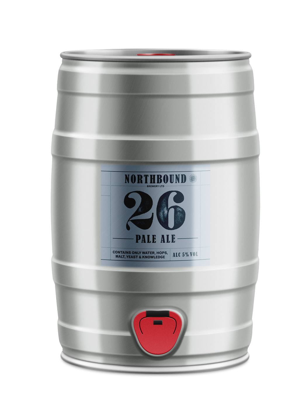 26 Pale Ale - 5L Mini Keg