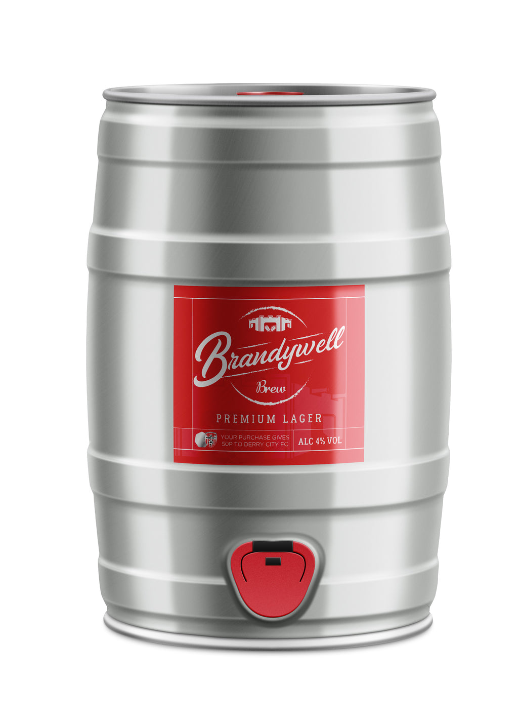 Brandywell Brew - 5L Mini Keg