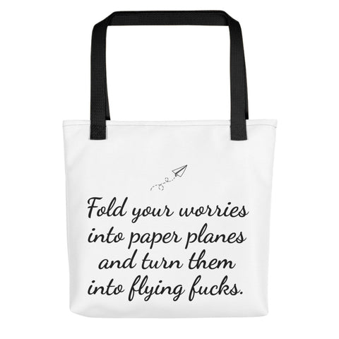 Fold Your Worries Tote