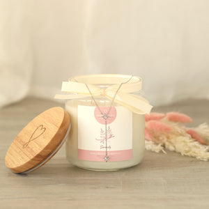 serenity scented candle with jewel jewelcandle gallery 2