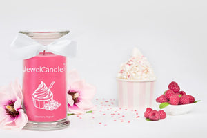 raspberry joghurt candela profumata con gioiello jewelcandle product picture big