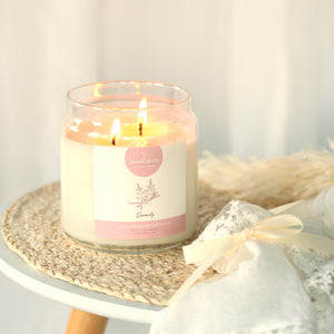 serenity scented candle with jewel jewelcandle gallery 4