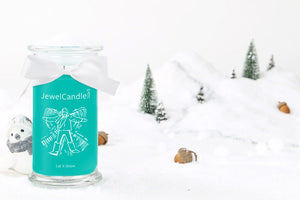 let it snow candela profumata con gioiello jewelcandle product picture big