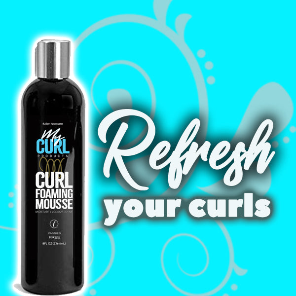 My Curl Curl Foaming Mousse - My Curl Products