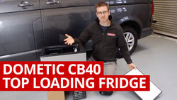 Video: Dometic CB40 Toplader Kühlschrank Review