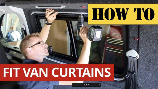 Video: How to Fit Campervan Curtains to a VW Transporter T5/T6