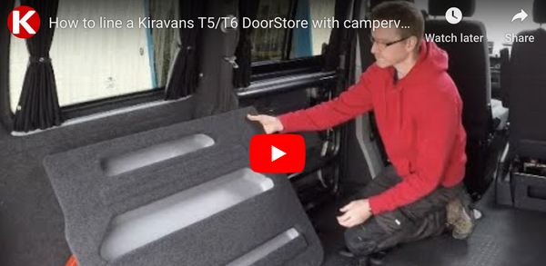 Video: How-To Verkleidung des Kiravans DoorStore für eine professionelle Optik