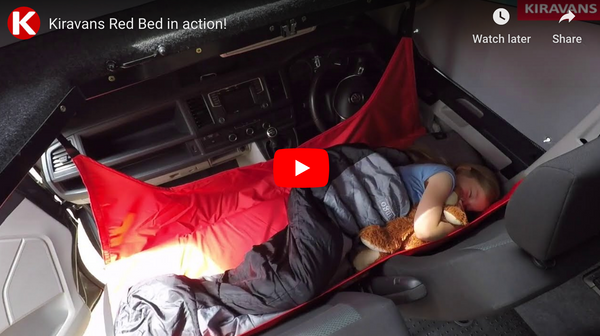 Video: Kiravans Red Bed im Einsatz!