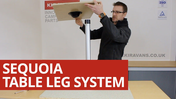 Video: Sequoia Table Leg System for your Campervan