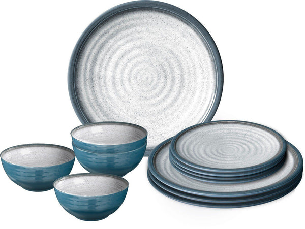 Midday 12 Piece Tableware Set - Tuscany