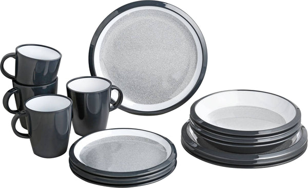 Lunch Box 16 Piece Tableware Set - Granyte