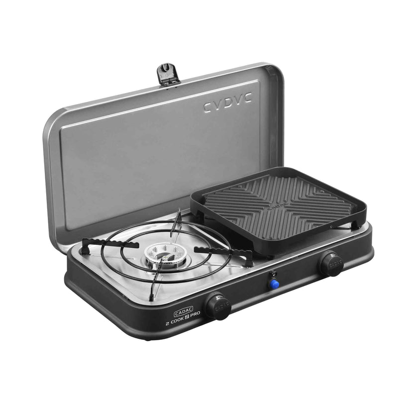 2 Cook 2 Pro Deluxe Gas Table Top BBQ (Piezo Ignition) Cadac