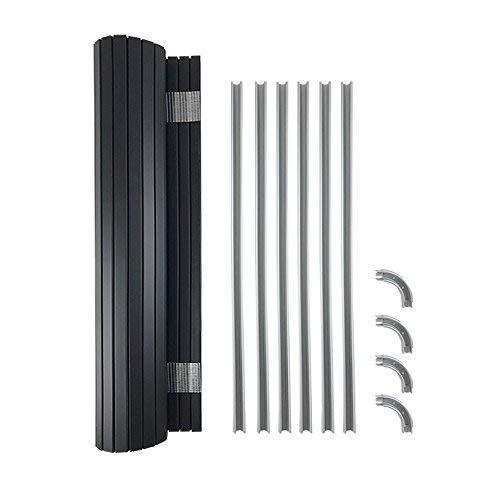 Kiravans Tambour Door Kit - Solid Black
