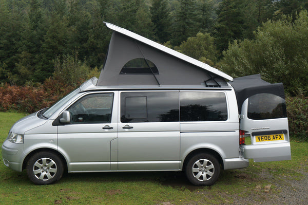 Kiravans Barn Door Awning - VW T5/T6 (without Spoiler)