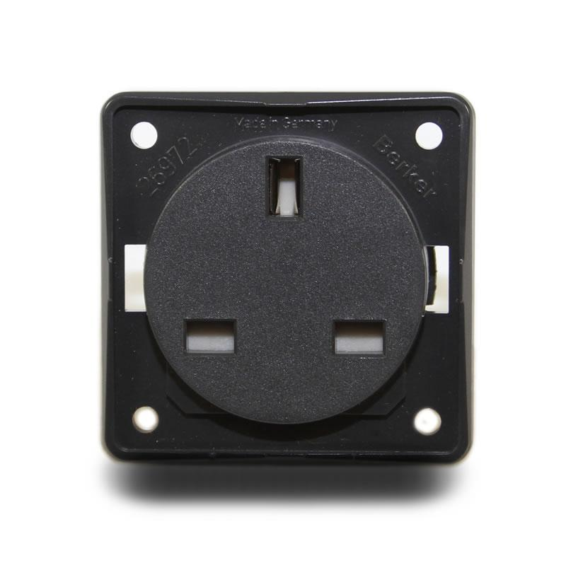 240V Standard Socket Outlet (Anthracite)