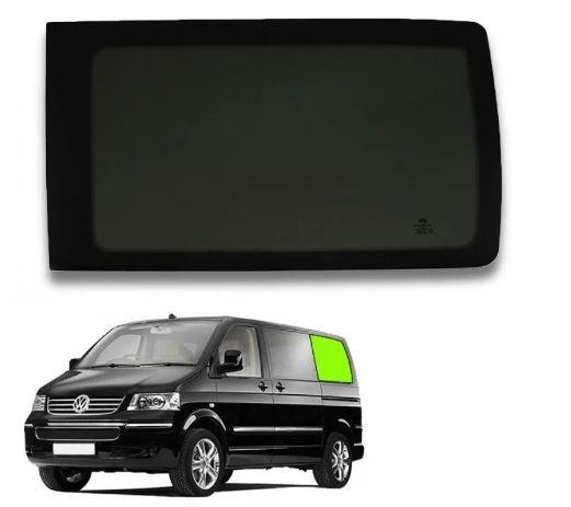 Left Rear Quarter Window (Privacy) For VW T5 / T6 - SWB