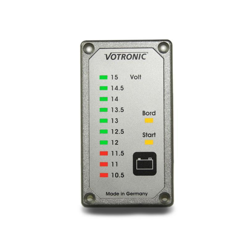 Votronic Duo Battery Tester (12v)