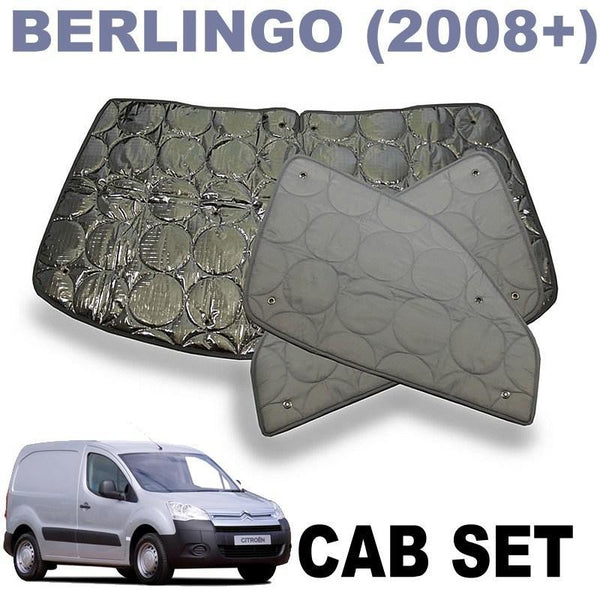 Citroen Berlingo Cab Silver Screens (New Model 2008+)