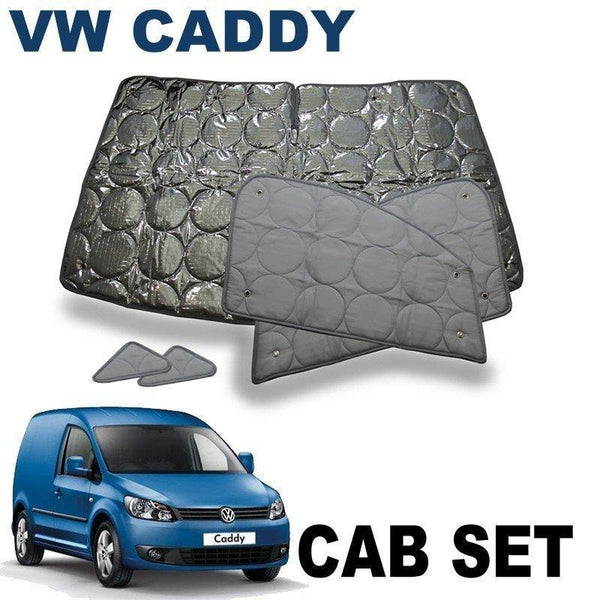 VW Caddy Cab Silver Screens (2004+)