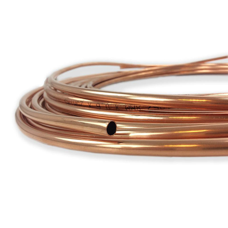 8mm Copper Pipe (Priced Per Metre)