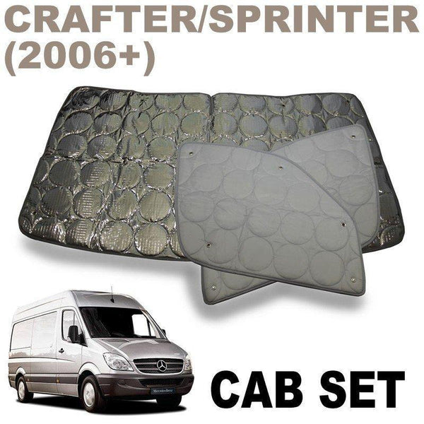 Crafter / Sprinter Cab Silver Screens (New Model 2006+)