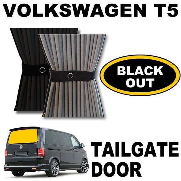 VW T5/T6 Curtain Kit  - Tailgate Door (Blackout)