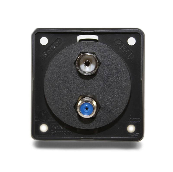 Aerial/Sat Connector Box (Anthracite)