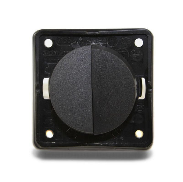 Twin Rocker Switch (Anthracite)