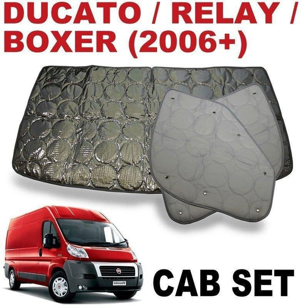 Ducato/Boxer/Jumper 5 Cab Silver Screens (New Model 07/2006+)