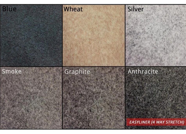 10m of Easyliner 4-way Stretch Lining Carpet | Choose Your Colour
