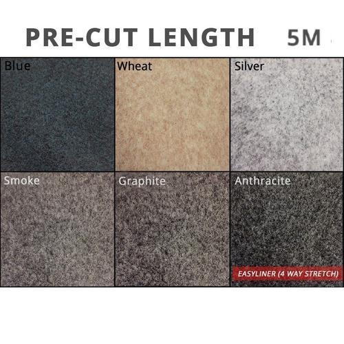5m of Easyliner 4-way Stretch Lining Carpet | Choose Your Colour