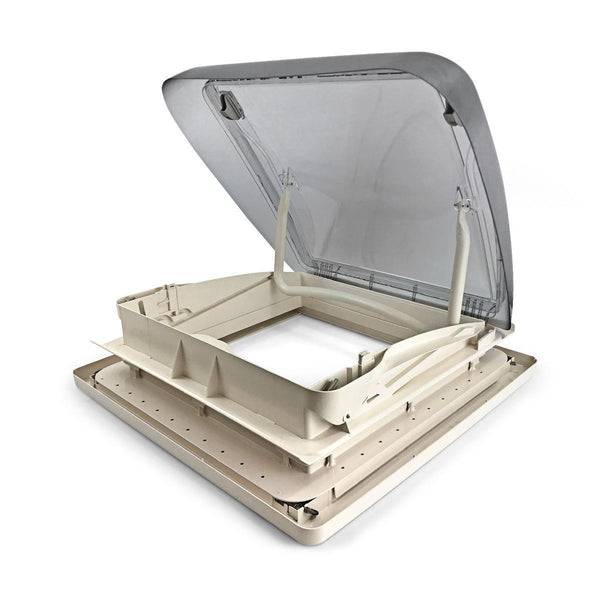 Mini Heki rooflight - with forced ventilation (400 x 400mm)