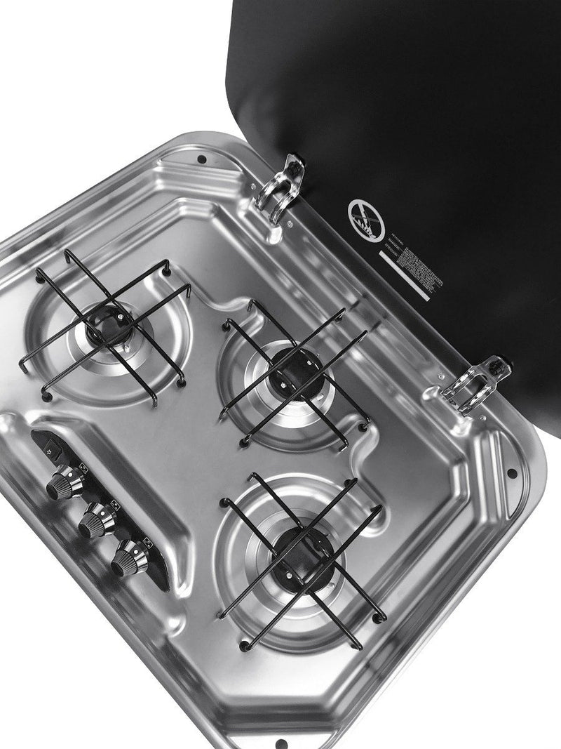 Dometic PI8023 (Smev 8023) - Piezo 3 burner Hob