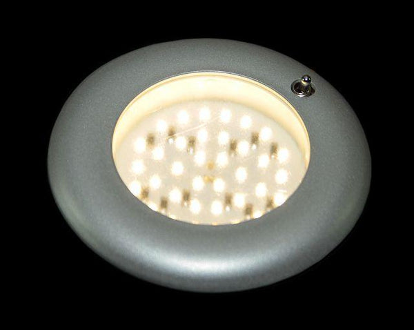 Nova Recessed Switched Light (Matt Silver)