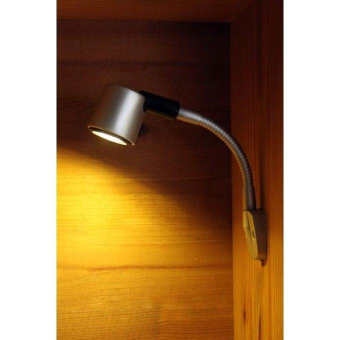 Kurs Light Matt Silver - 2 Lengths Available (Warm White)